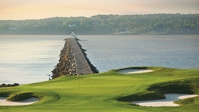 Samoset Resort offers one of the most scenic courses on the East Coast.