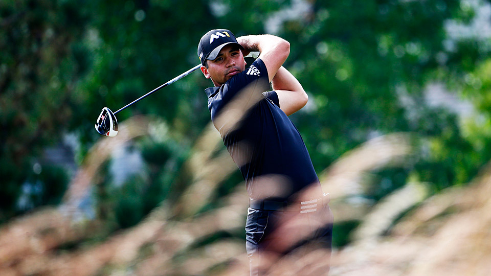 Jason Day during the first round of the 2015 BMW Championship.