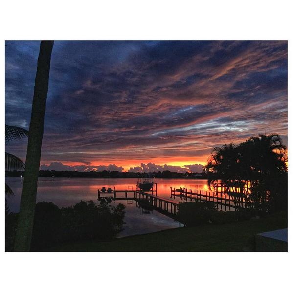 That morning sunrise #home