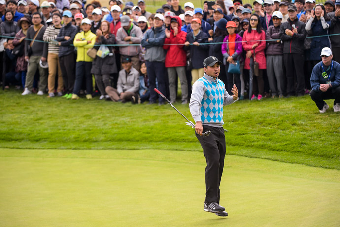 Jason Day was 0-2 on day 3.