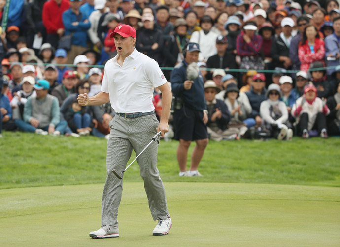 Spieth has been central to the Americans' effort at the 2015 Presidents Cup.