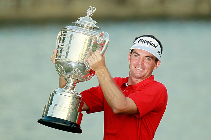 Two victories, including Bradley's three-hole playoff win over Jason Dufner at the 2011 PGA Championship, earned him the 2011 Rookie of the Year honor.