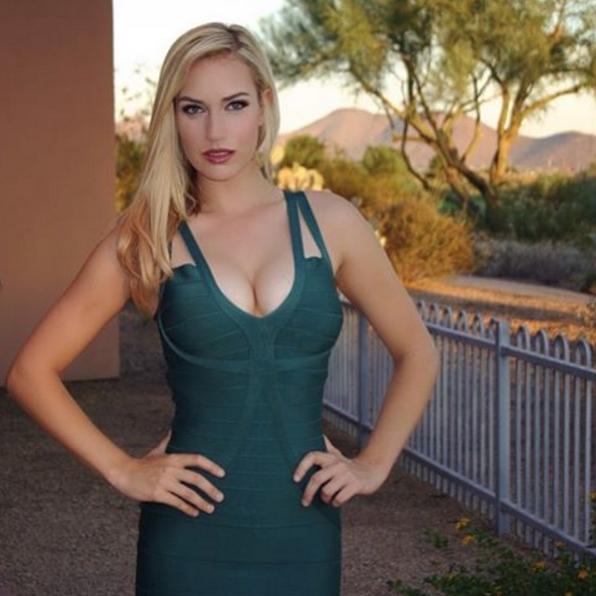 La Golfista Paige Spiranac Presentará El Dubai Desert Classic