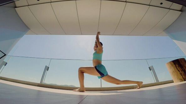 Love how calm and happy I feel after doing yoga #China #MondayYoga #dayoff #stressrelease @selfmagazine @nikewomen