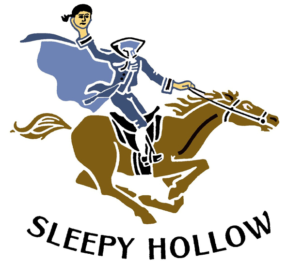 Does Sleepy Hollow Golf Club in Briarcliff Manor have the creepiest logo in the U.S.? Yeah, probably.