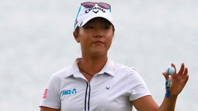 Lydia Ko became the youngest player to reach the World No. 1 ranking earlier this year.