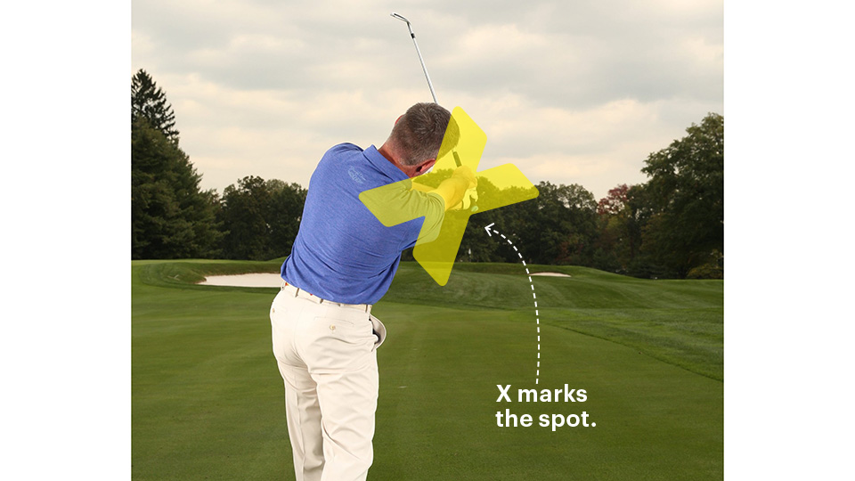 Let your forearms cross in your release. This stops slices and promotes a draw.
