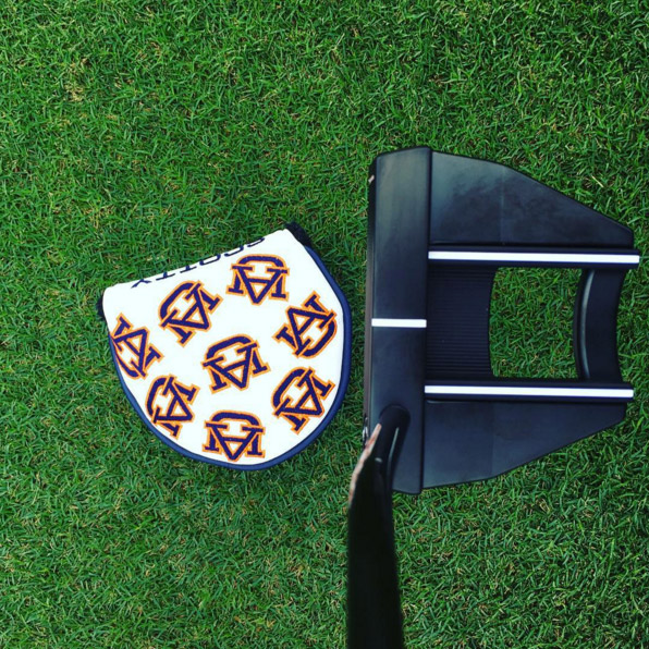 @scottycameron always taking good care of me. Got my new black matte X7M, and a new Auburn head cover. Getting ready to roll that pill in 2016. #bigthings