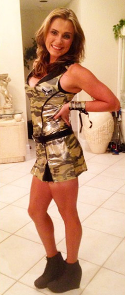 Supporting the military this Halloween!! Hope everybody has a fun and safe night:))