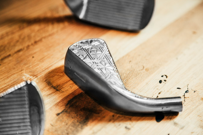 Grismont hired 3D-printing artists Linlin and Pierre-Yves Jacques to design the clubs.