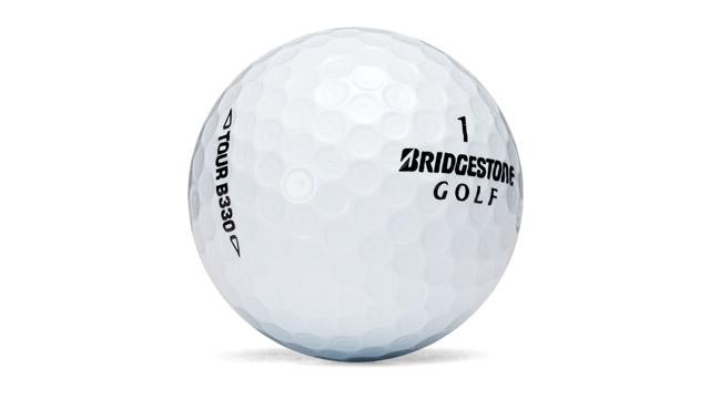 Bridgestone B330 golf ball.
