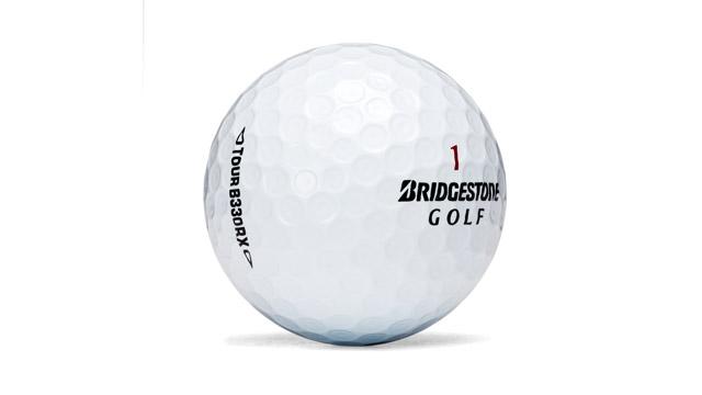 Bridgestone B330RX golf ball.
