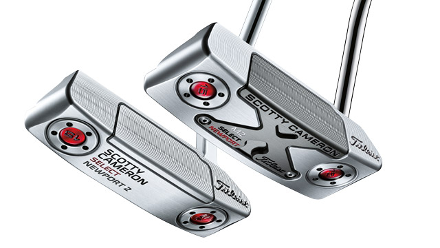 Scotty Cameron Select Newport 2 and Select Newport M2 putters.
