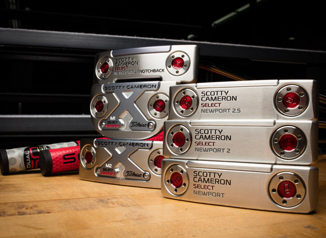 All new Scotty Cameron Select Newport putters.