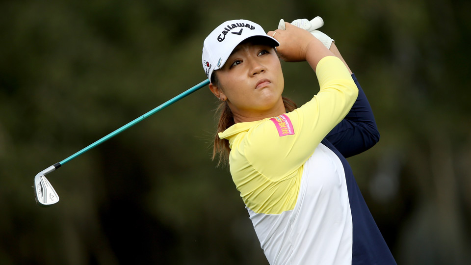 Lydia Ko during round 2 at the 2016 Coates Golf Championship in Florida.