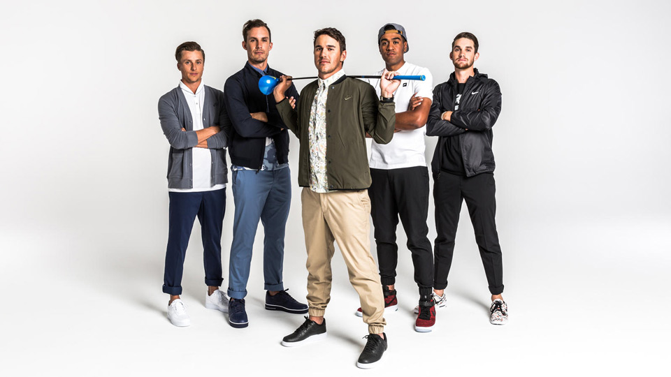 Nike Staff players model the new apparel for 2016.