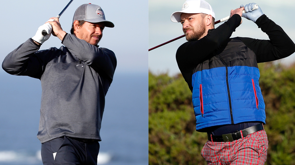 WXYZ in Detroit is reporting that Mark Wahlberg (left) and Justin Timberlake (right) will join Rickie Fowler and Rory McIlroy in their June 7 match at the Detroit Golf Club.