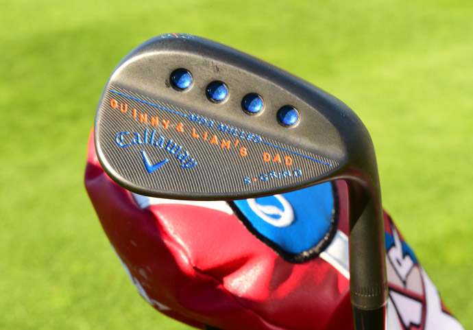 Matt Every has his kids' names stamped on his Callaway wedges. In addition, he's got Callaway Apex Pro forged irons and XR woods.