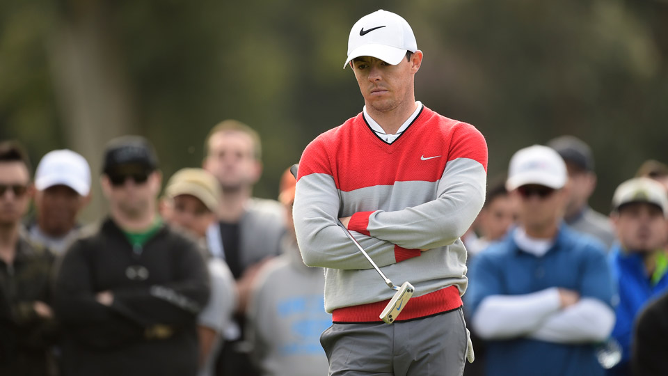 Rory McIlroy got into a Twitter spat with Brandel Chamblee this week.