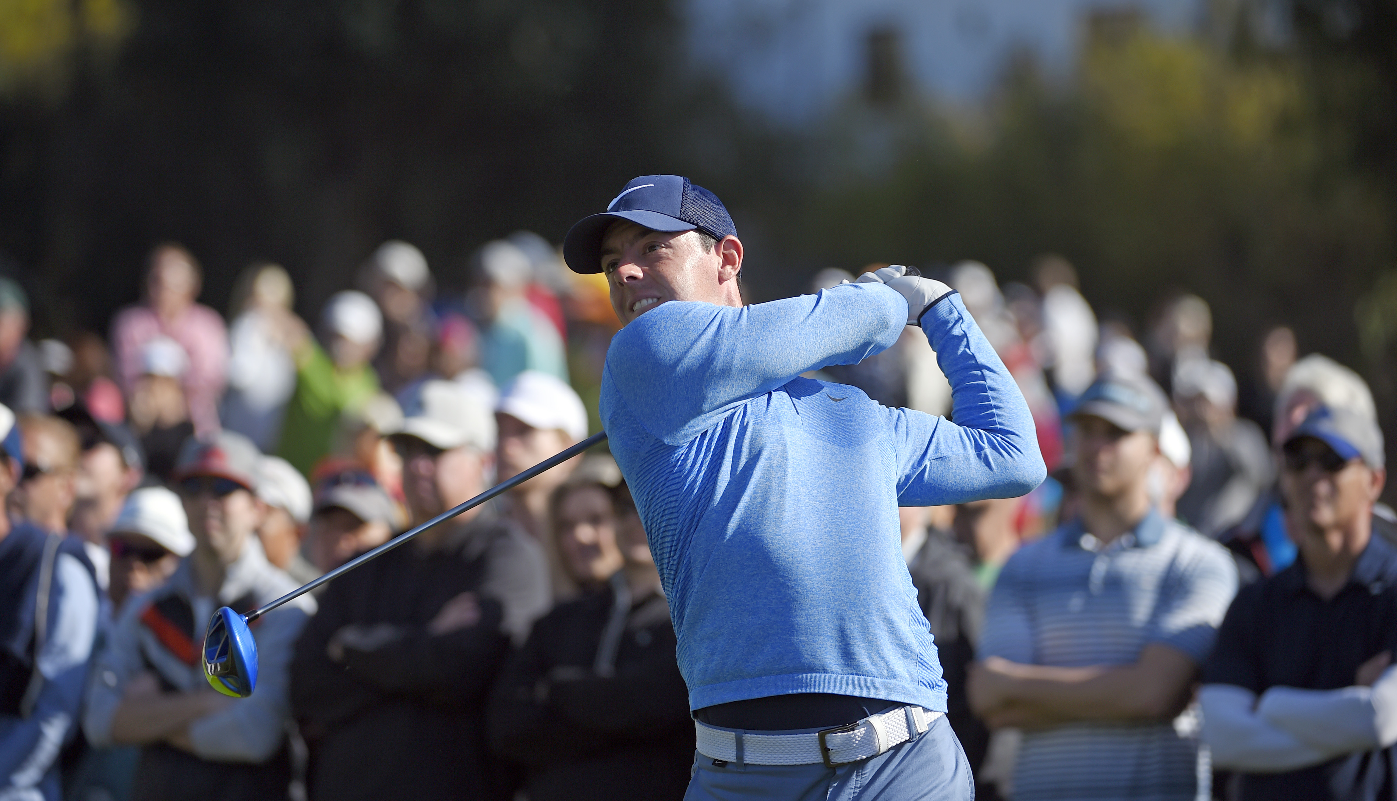 Rory McIlroy has outwardly shown disdain toward questions about his weightlifting.