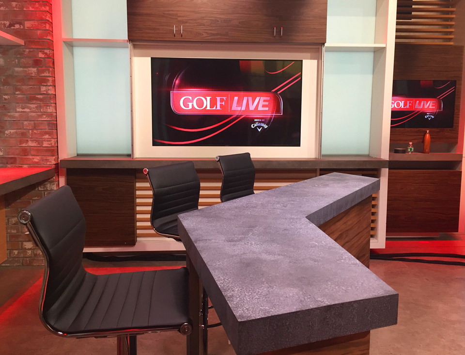 GOLF LIVE will be broadcast from Time Inc.'s high-tech studios in lower Manhattan. The show debuts Feb. 23.