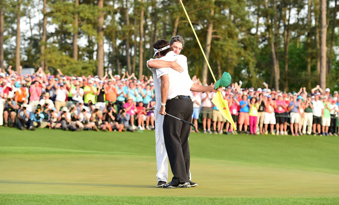 Bubba Watson bested Jordan Spieth by three shots to take home his second green jacket in three years.