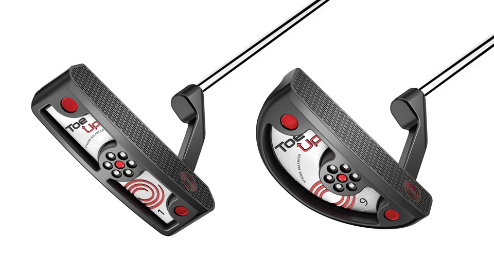 Odyssey Toe Up #1 Putter; Odyssey Toe Up #9 Putter