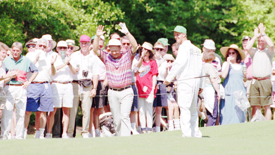 Jack Nicklaus made a pair of deuces in 1995, but TV didn't capture the historic feats.