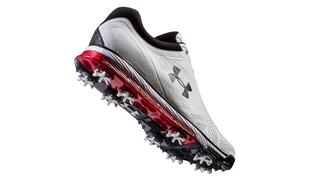 Under Armour Tempo Tour golf shoe.