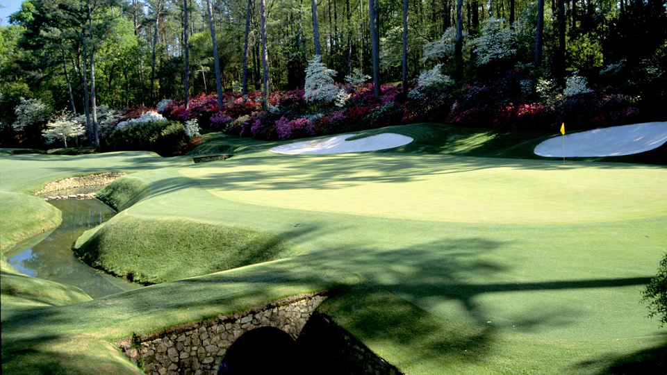 The 13th green at Augusta National has been the stage for countless memorable Masters moments.