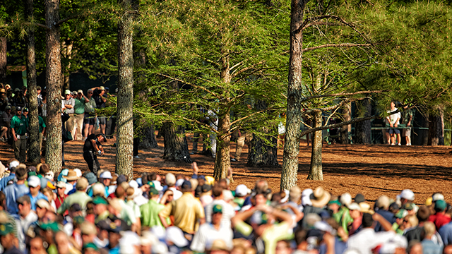 En route to victory in 2010, Phil Mickelson threaded a 6-iron through the pines at the 13th and made birdie. Imagine the fireworks with the par-5 as the home hole.