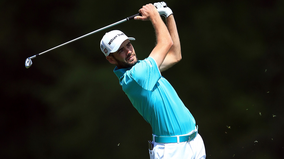 Troy Merritt show a 2-over-par 74 in his Masters debut.
