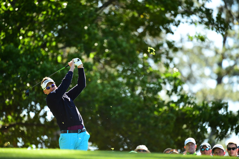 Ian Poulter shot a six-over 78 in the second round.