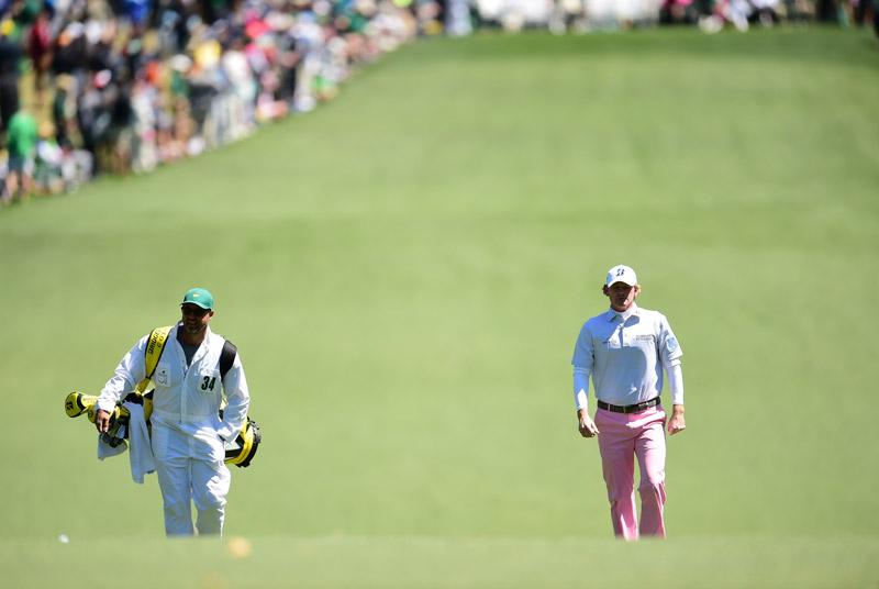 Brandt Snedeker waits to hit a shot during Saturday's third round.