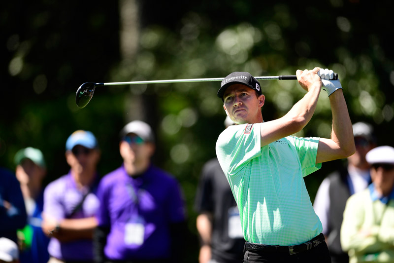Jimmy Walker went backwards on a tough day at Augusta National.