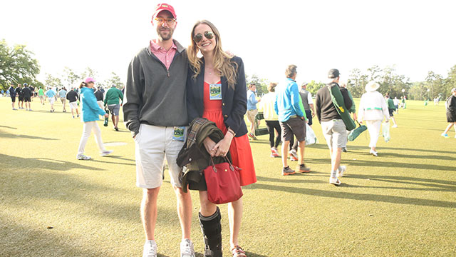 Pilcher is attending her 16th Masters, taking part in a family tradition that dates back to the first Masters.