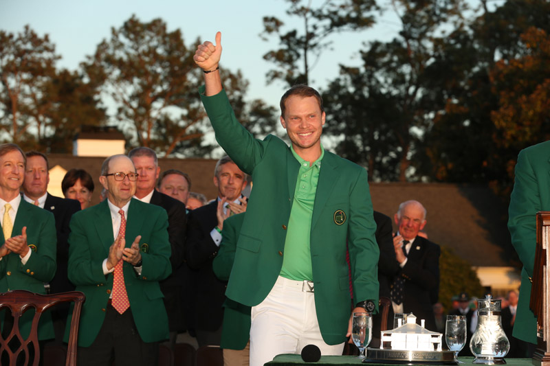 Englishman Danny Willett won the 2016 Masters after Jordan Spieth gave up the lead on the back nine.