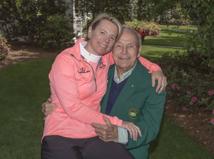 Goodbye @TheMasters. Thanks @3M,  #Rolex and @ANNIKA59 for the super hospitality. Here's my favorite pic of the week
