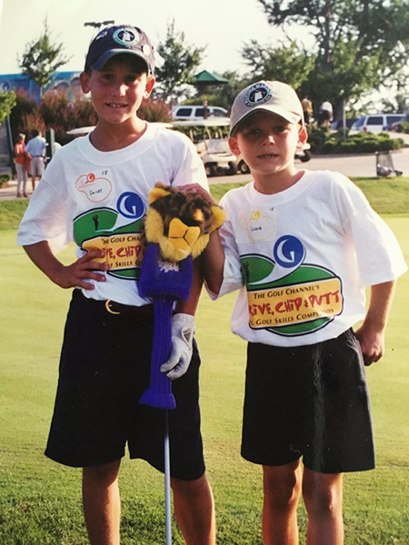@GolfChannel good luck to all drive chip and putt contestants.  @SmylieKaufman10 @TheMasters