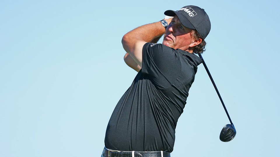 Phil Mickelson, shown teeing off at last week's Valero Texas Open, is still just a U.S. Open win away from the career grand slam.