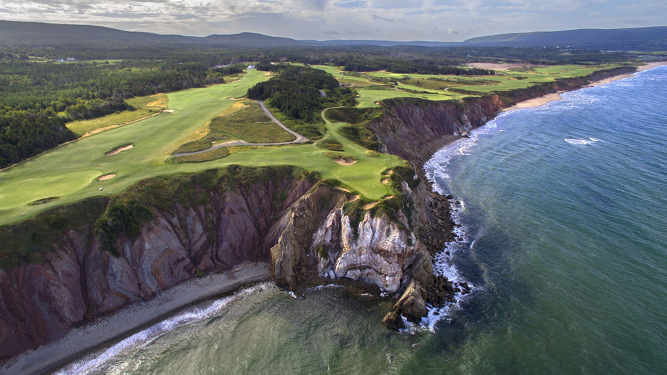 Cabot Cliffs, equal parts Pebble and paradise.