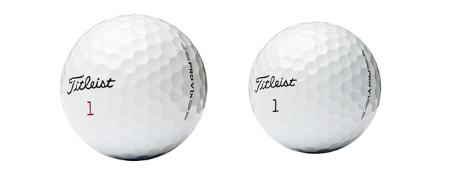 Titleist Pro V1x and Pro V1 Golf Balls