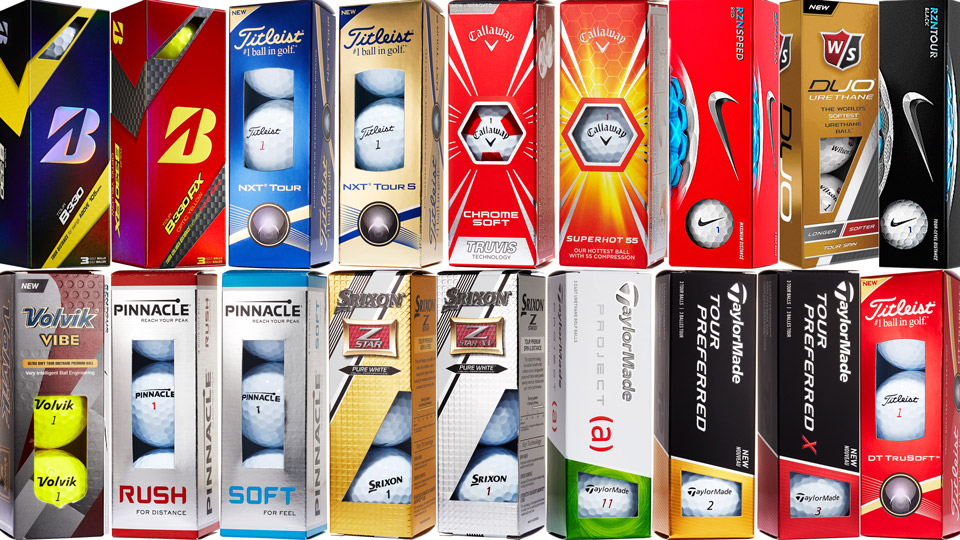 A look at some of the newest golf balls for 2016.