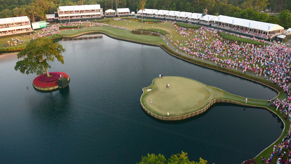 When GOLF tracked a February day at the 17th in 2011, a total of 107 balls were hit into the water.