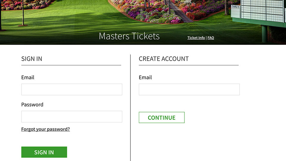 Miss out on Masters tickets this year? Here's how to apply for tickets to the 2017 tournament.