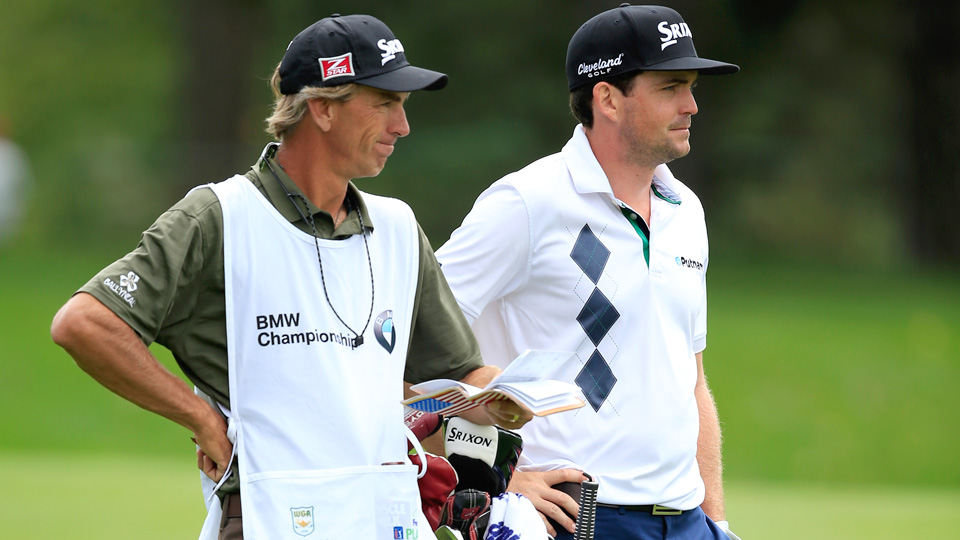 "Keegan Bradley and caddie Steven ""Pepsi"" Hale have split after five years."