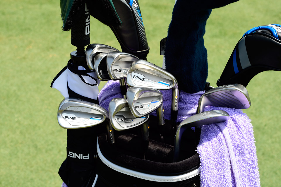 Long time Ping player Mark Wilson is currently playing the company's new i irons.