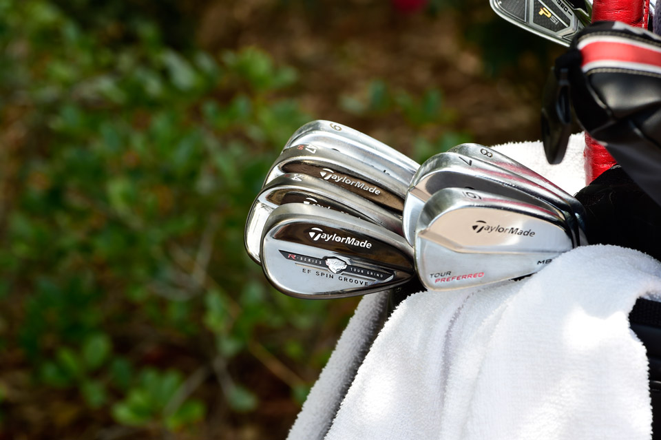 Canadian pro Nick Taylor goes for TaylorMade Tour Preferred MB irons and Tour Preferred EF wedges, as well as a Psi long iron.