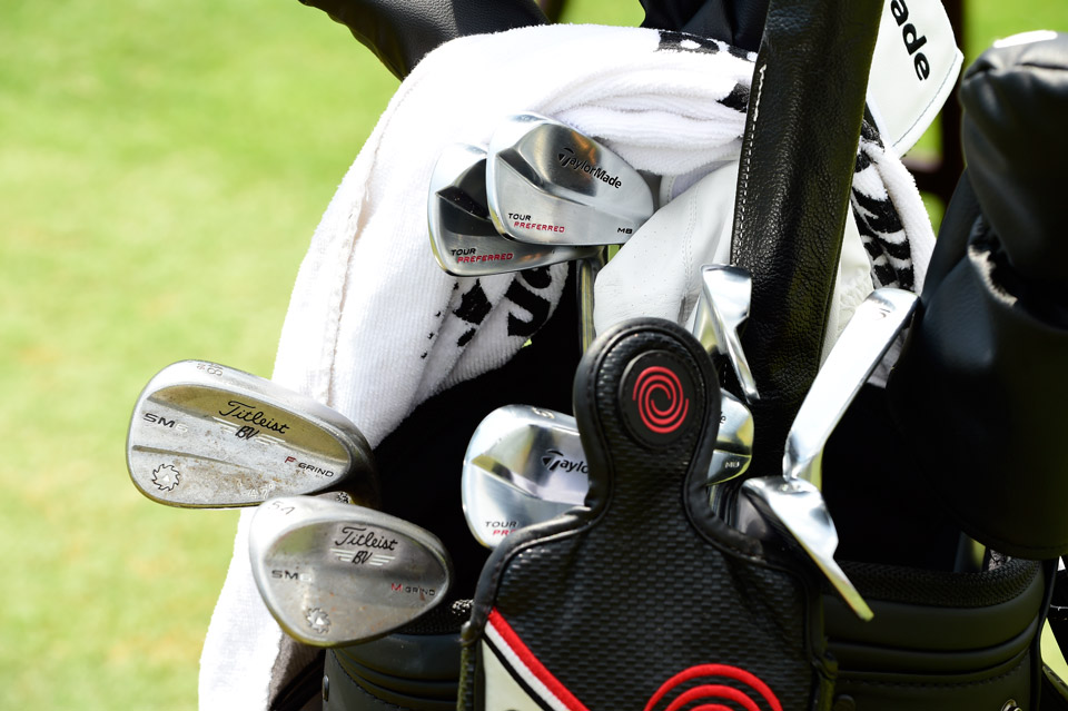 Si Woo Kim favors a combination of TaylorMade Tour Preferred MB irons and Titleist Vokey Design Sm6 wedges.