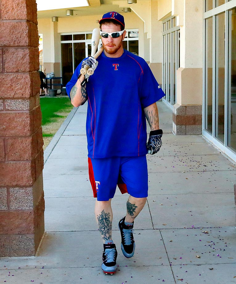 In late February, news broke that Los Angeles Angels outfielder Josh Hamilton had relapsed in his battle with substance abuse addiction. Weeks later, Major League Baseball announced Hamilton would not be suspended for violating the league's substance abuse policies, even as Angels owner Arte Moreno campaigned for discipline. On April 27, Hamilton was traded to the Texas Rangers, for whom he played from 2008 through 2012. The 33-year-old will join the team when he recovers from his shoulder injury.                                      (Text credit: Alex Putterman/SI.com)